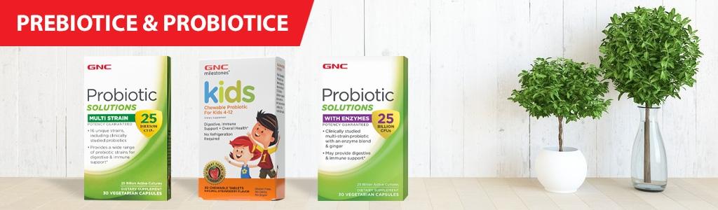 Prebiotice & Probiotice
