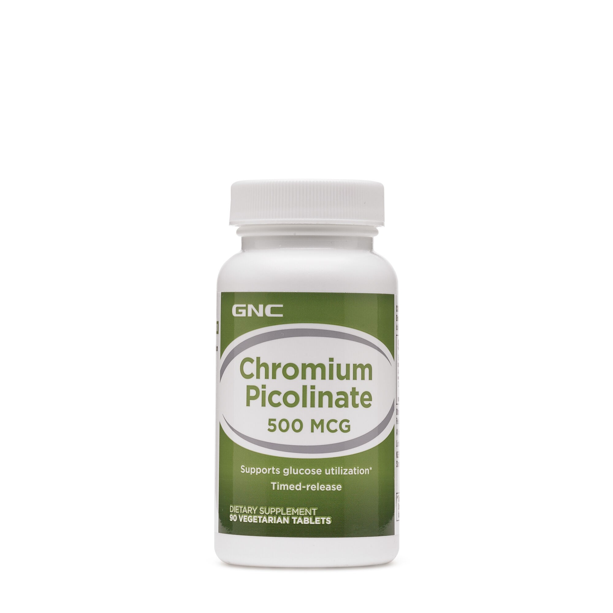 GNC Chromium Picolinate 500 mcg, Crom Picolinat, 90 tb