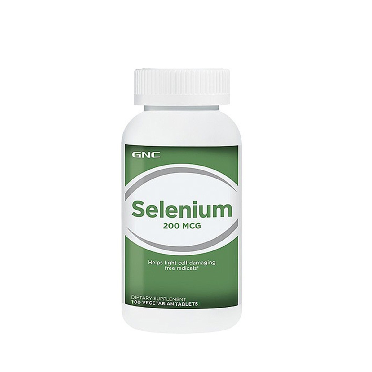 GNC Selenium 200 mcg, Seleniu Natural, 100 tb