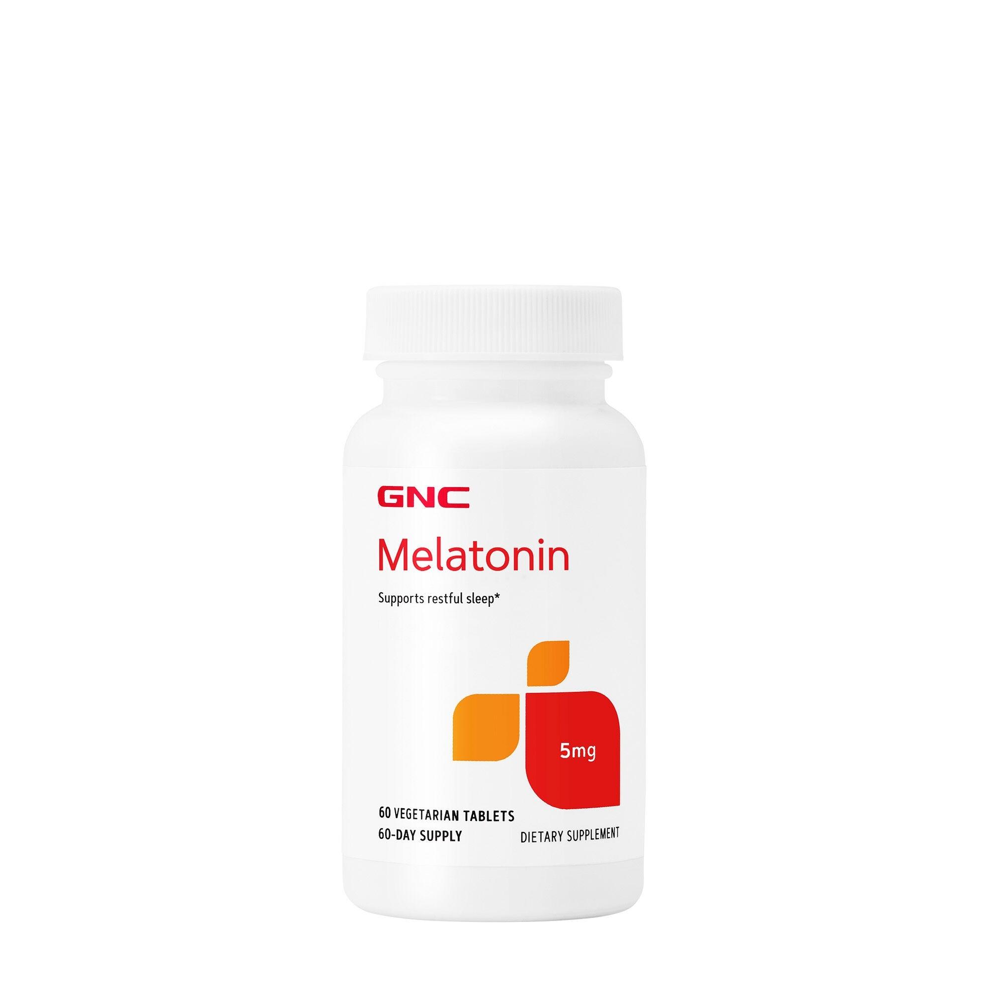 GNC Melatonin 5 mg, 60 tb