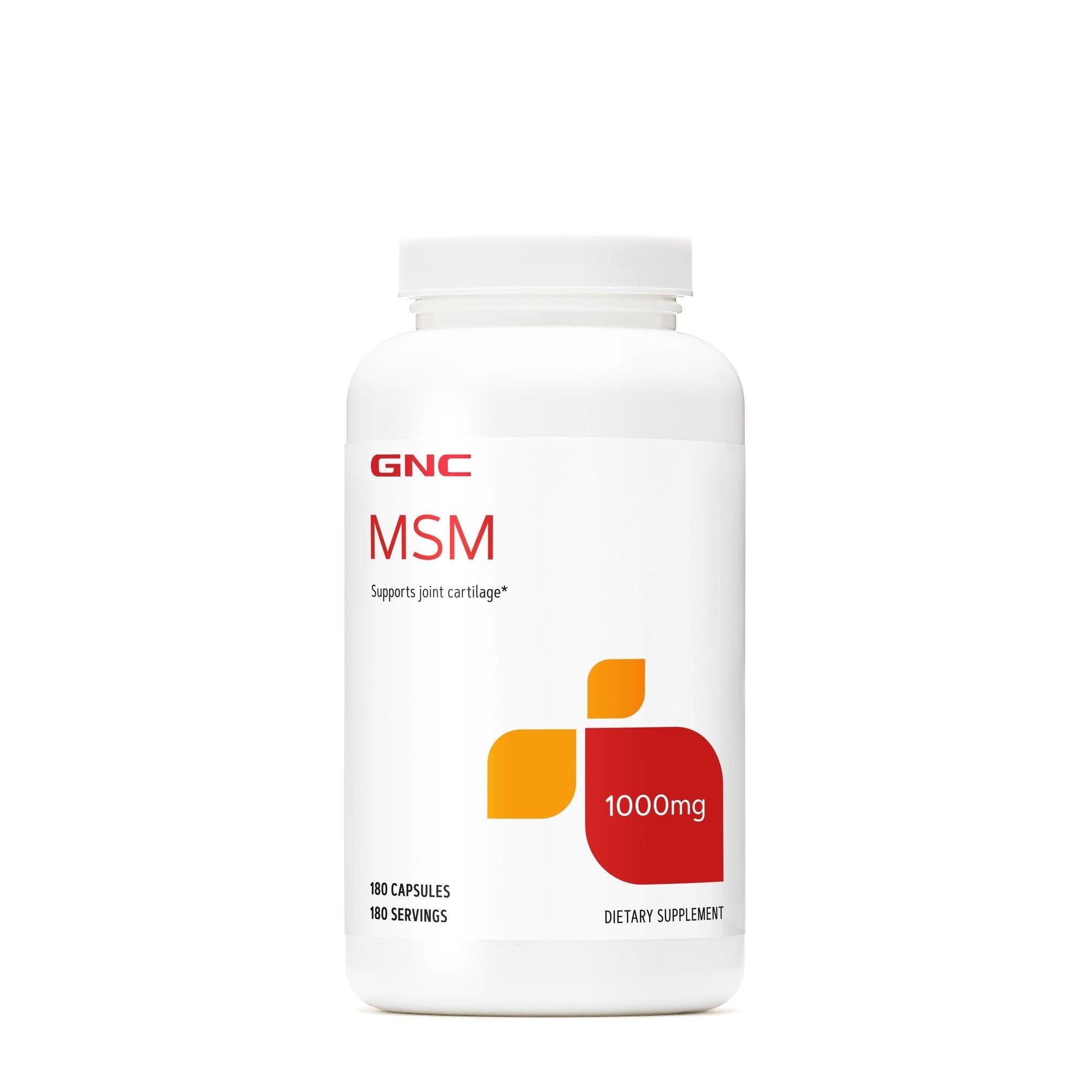 GNC MSM 1000 MG, 180 cps