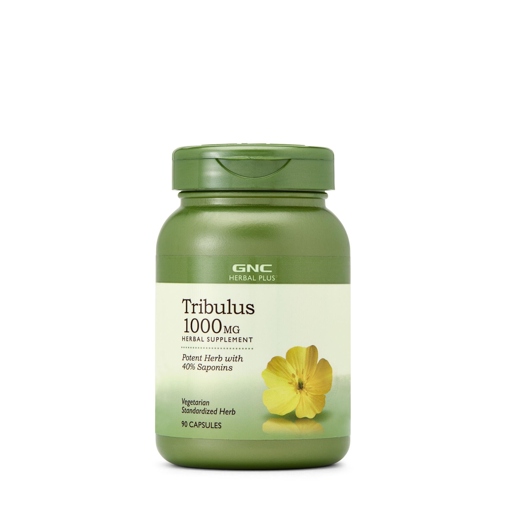 GNC Herbal Plus® Tribulus 1000 mg, 90 cps