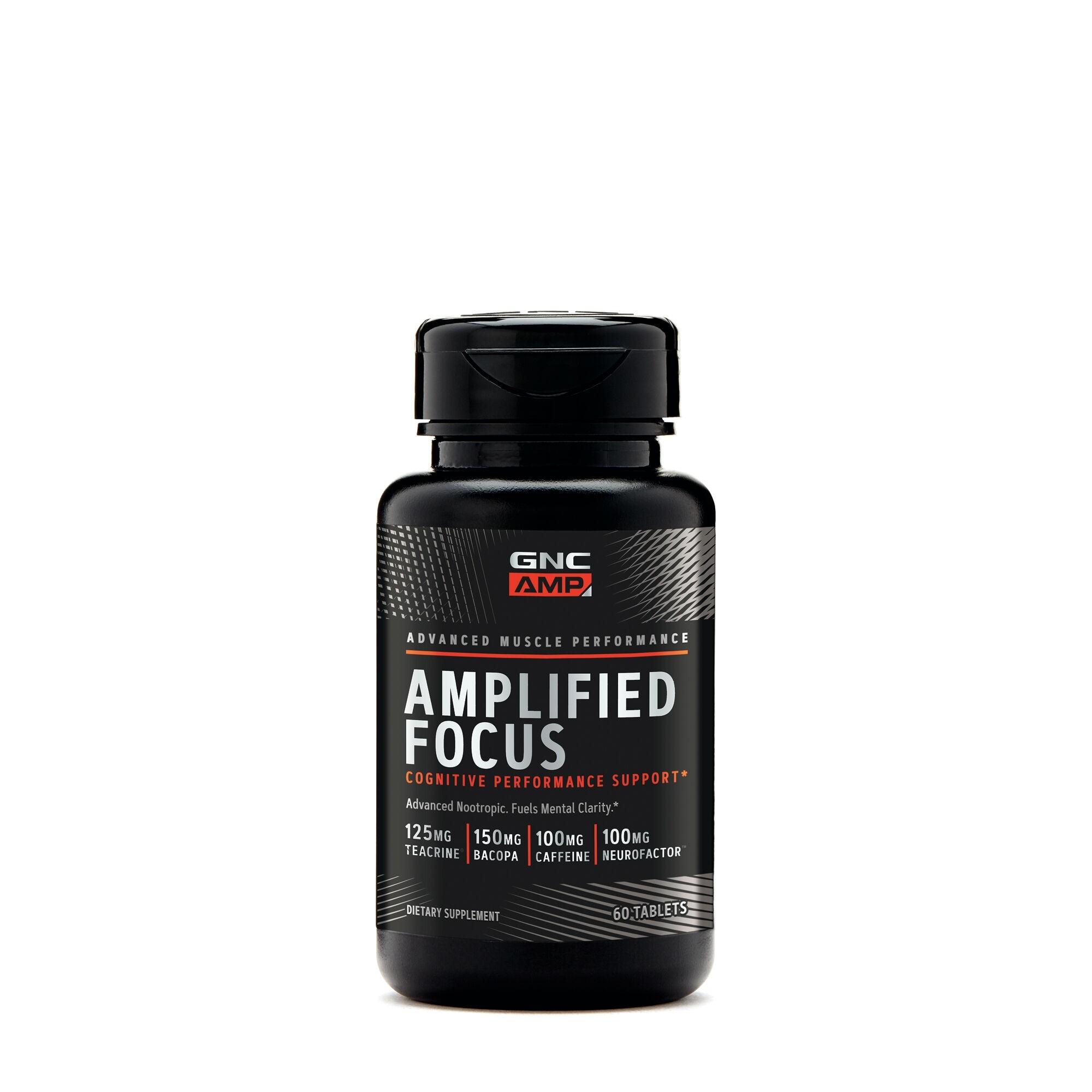 GNC AMP Amplified Focus, 60 tb