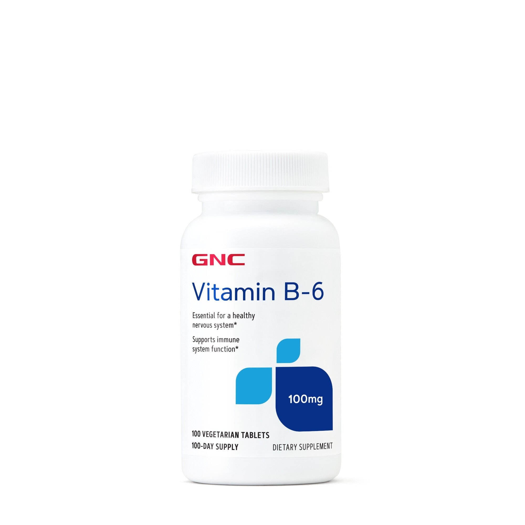 GNC Vitamin B-6 100 mg, 100 tb