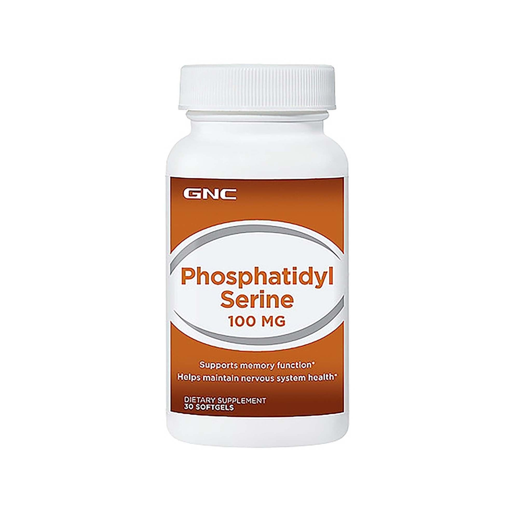 GNC Phosphatidyl Serine 100 mg, Fosfatidil Serina, 30 cps