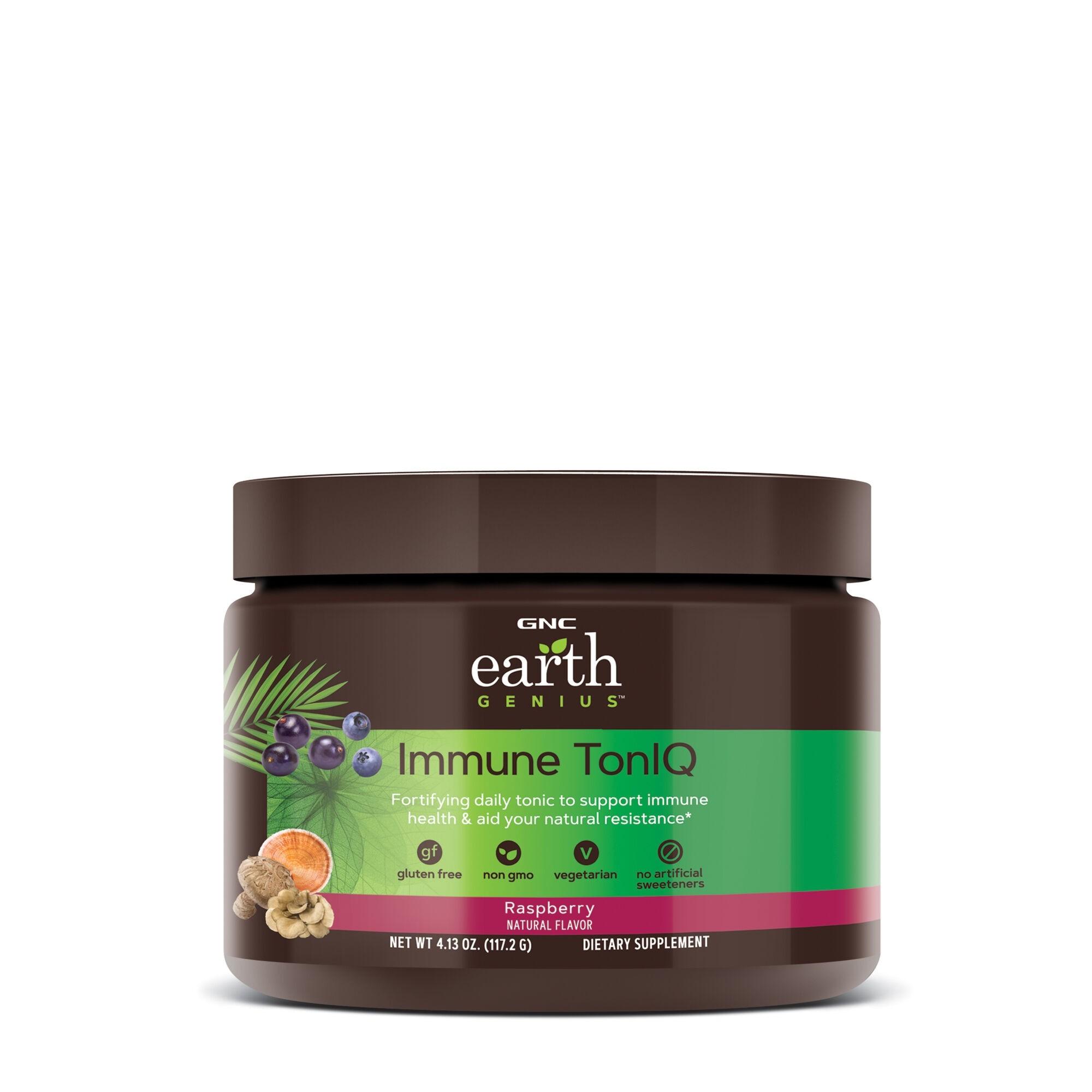 GNC Earth Genius™ Immune TonIQ - Raspberry, 117.2 g