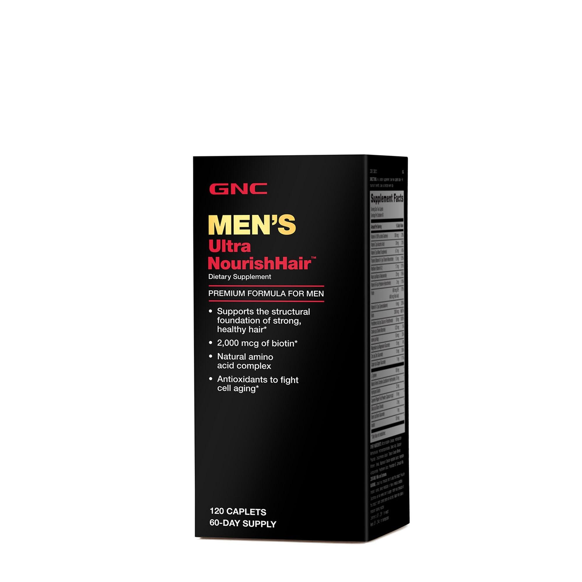GNC  Men' s Ultra NourishHair™, 120 tb