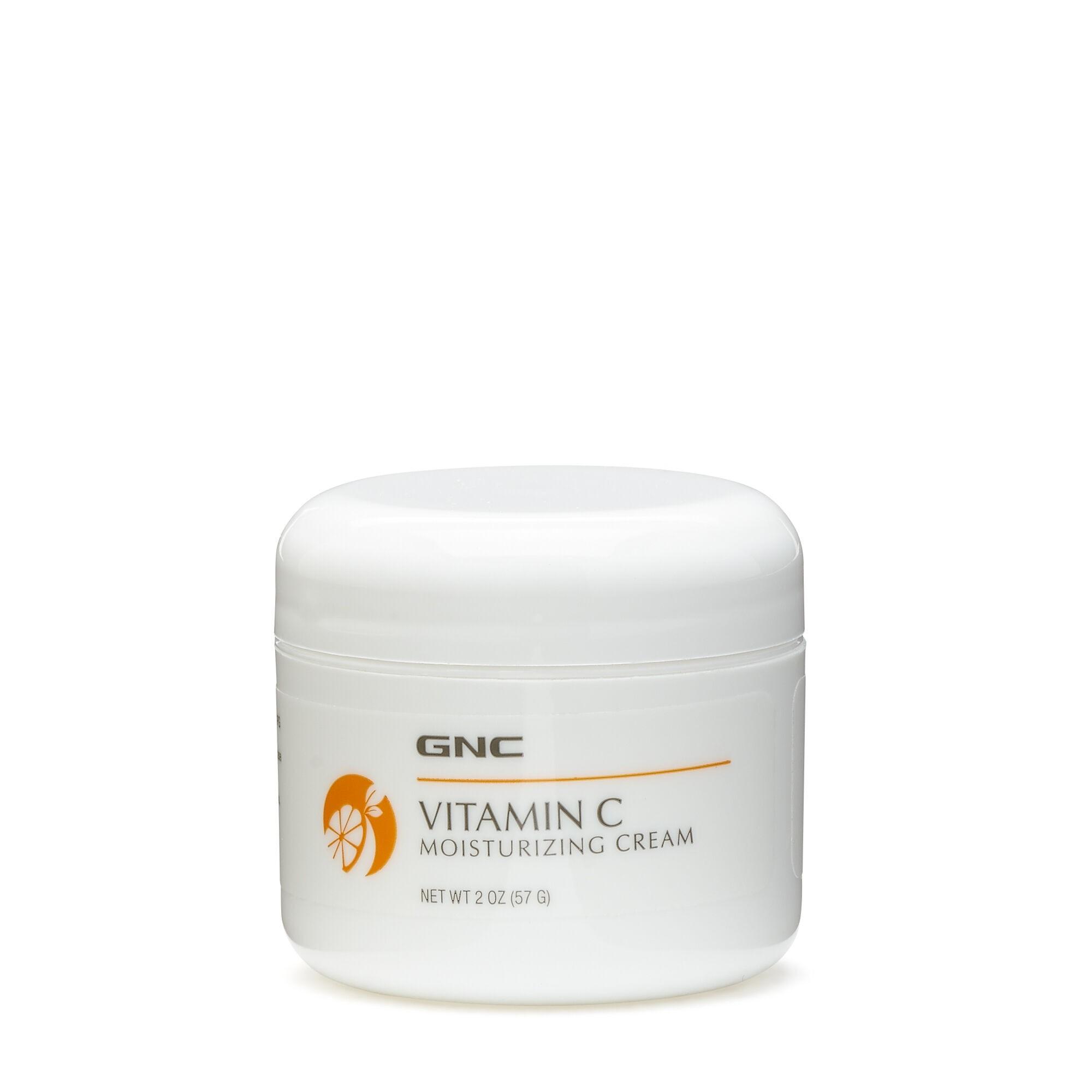GNC Crema hidratanta, Moisturizing Cream Vitamin C, 57 g