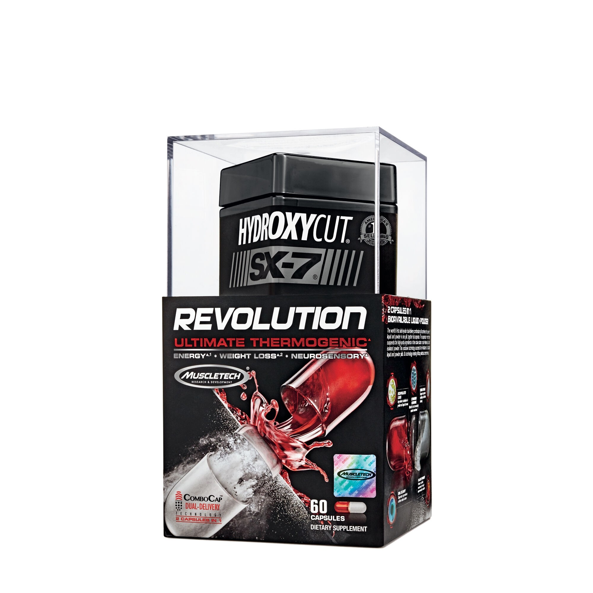 Hydroxycut® SX-7 Revolution Ultimate Thermogenic, 60 cps