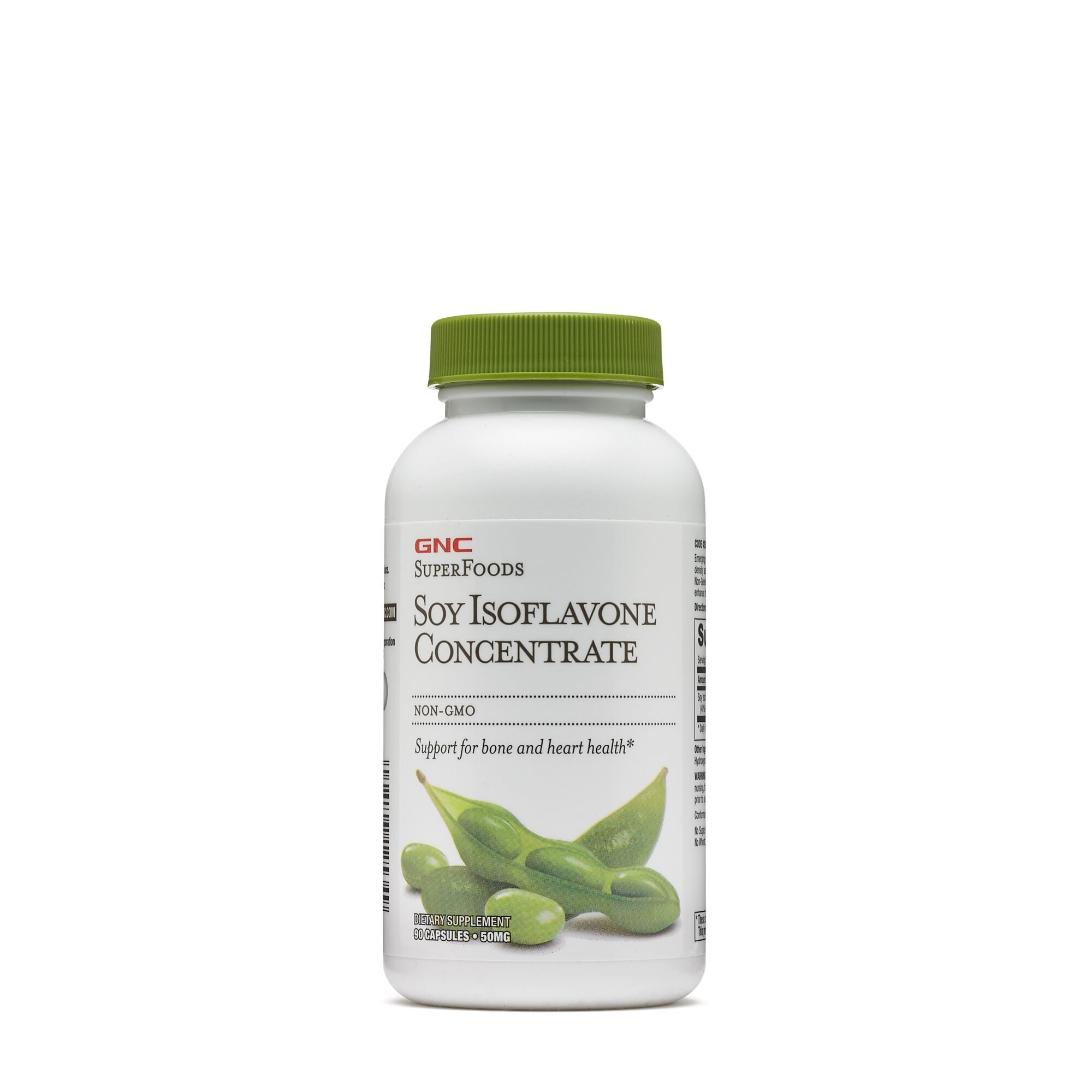 GNC SuperFoods Soy Isoflavone Concentrate, Isoflavone din Soia, 90 cps
