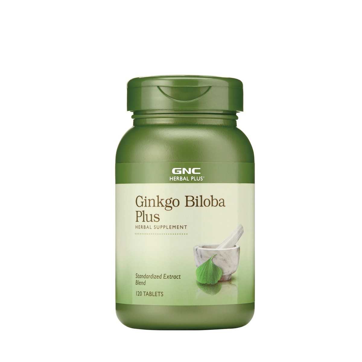 GNC Herbal Plus® Ginkgo Biloba Plus, 120 tb
