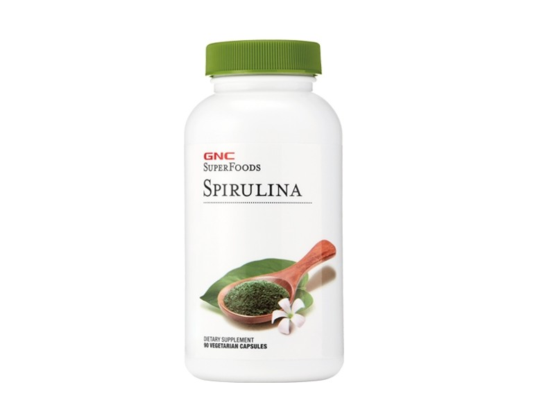 GNC SuperFoods Spirulina 500 mg, 90 cps