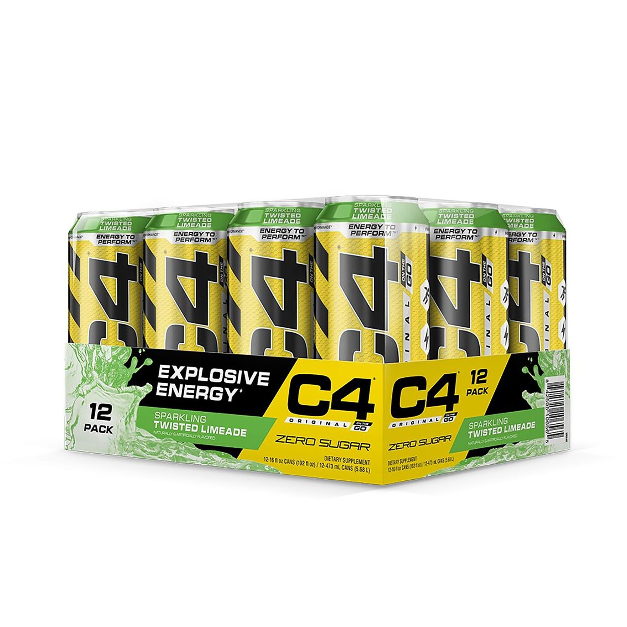 Cellucor® C4® Original On The Go, Bautura Energizanta, 473 ml