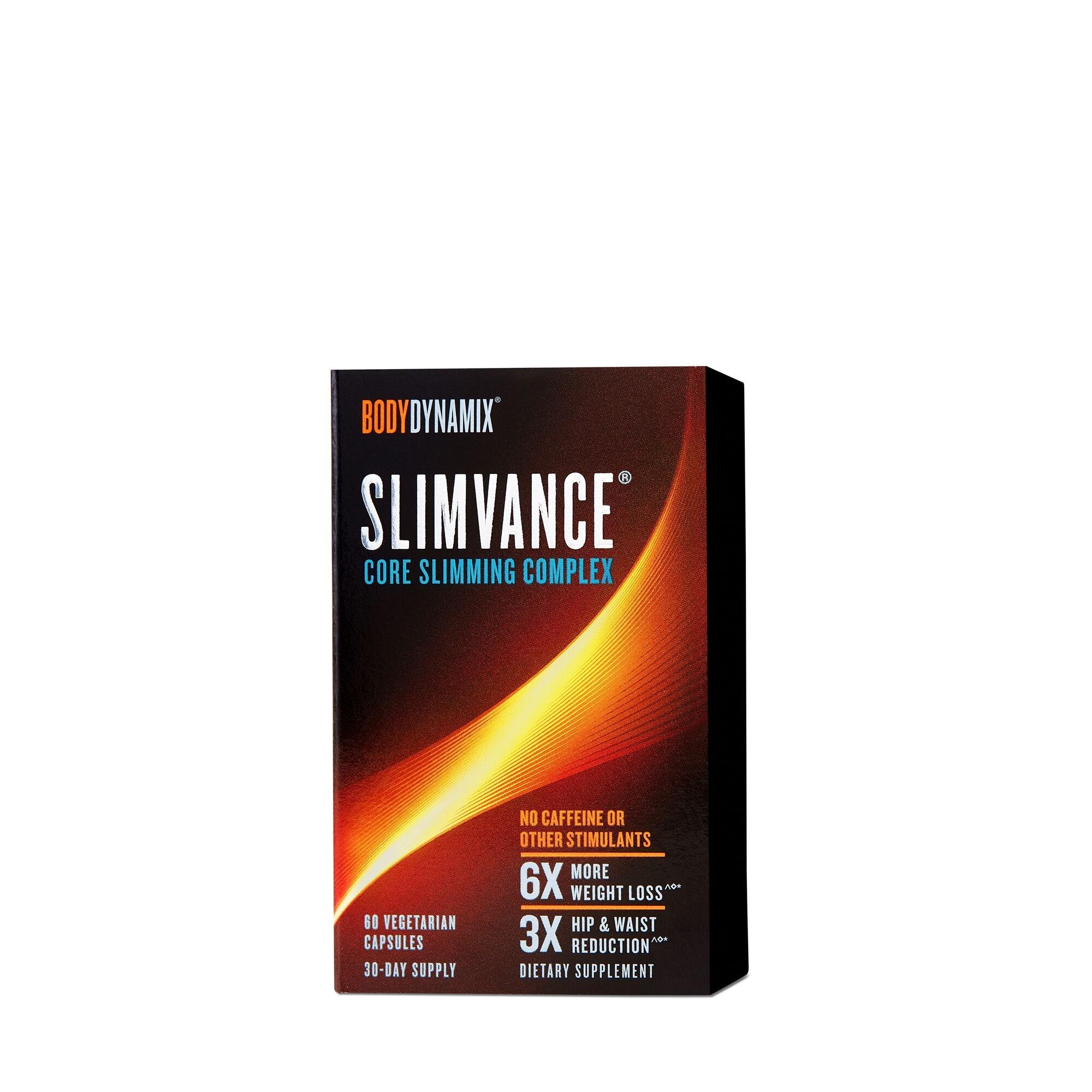BodyDynamix™ Slimvance® Core Slimming Complex Stimulant Free, Formula Pentru Controlul Greutatii, 60 cps