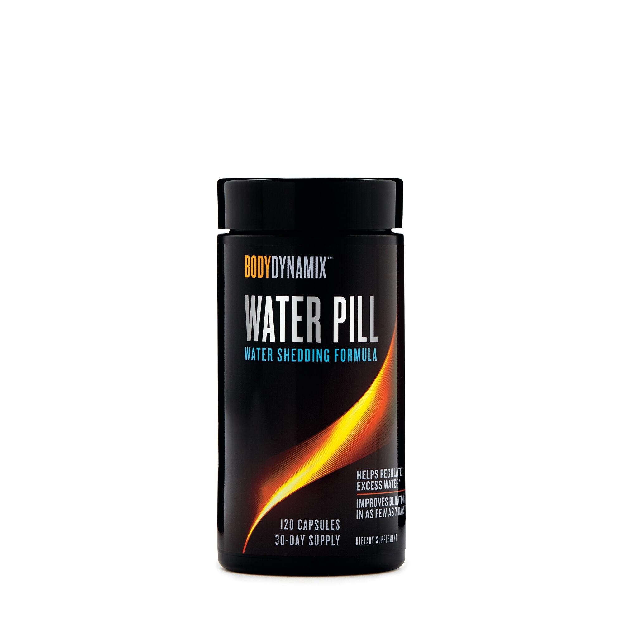 BodyDynamix™ Water Pill, Formula Pentru Reducerea Retentiei De Apa Din Organism, 120 cps