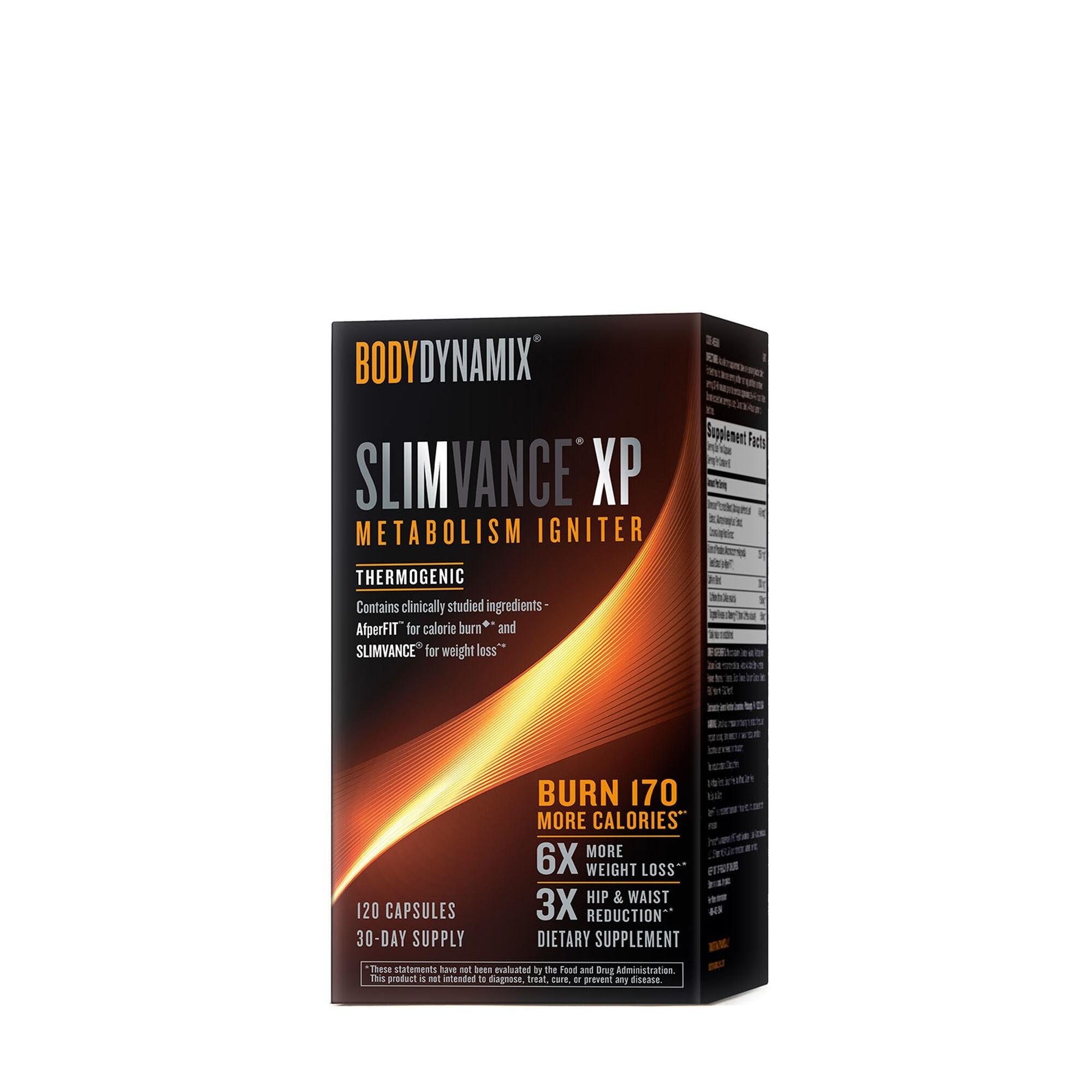 BodyDynamix® Slimvance® XP Metabolism Igniter, Termogenic, 120 cps