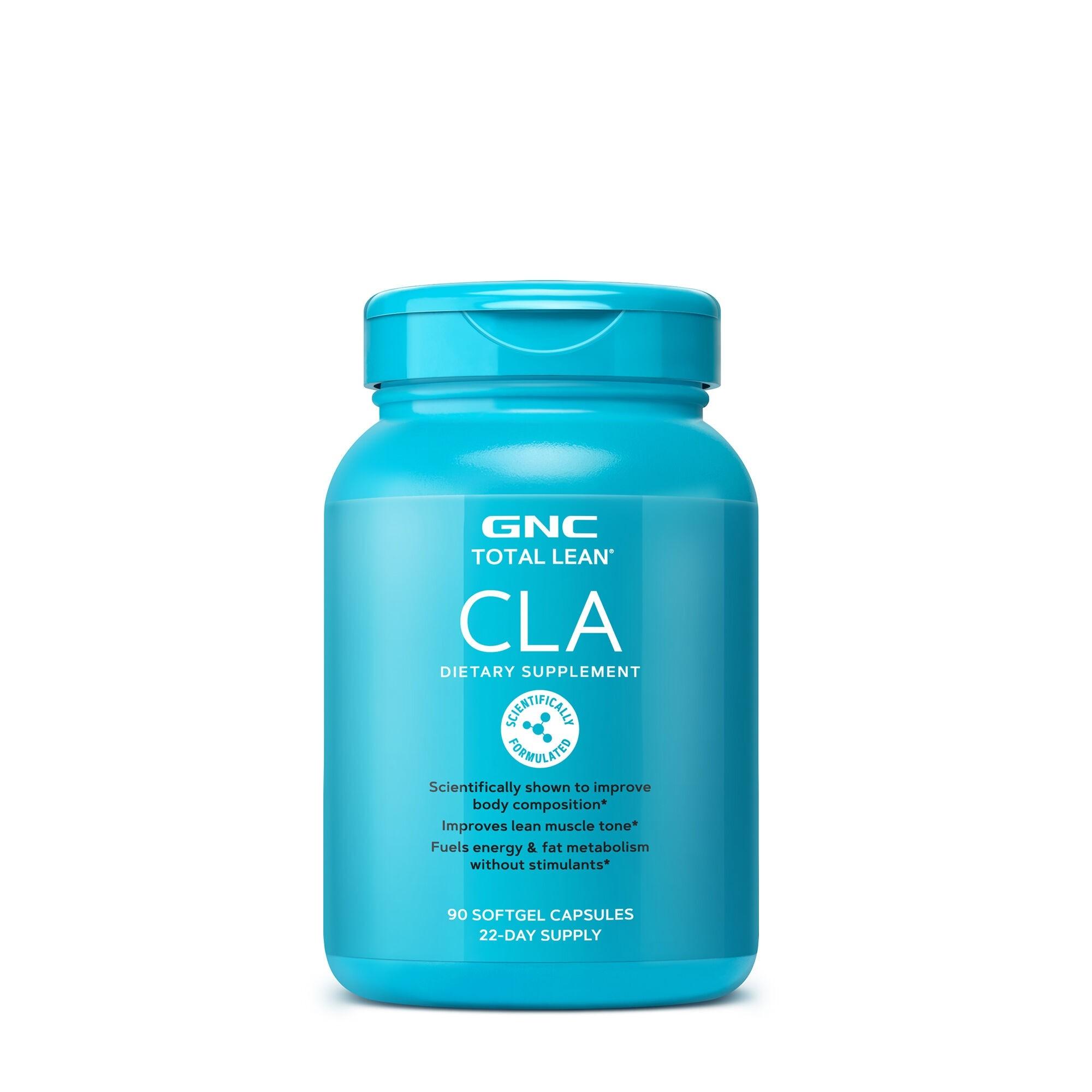 GNC Total Lean® CLA, Acid Linoleic Conjugat, 90 cps
