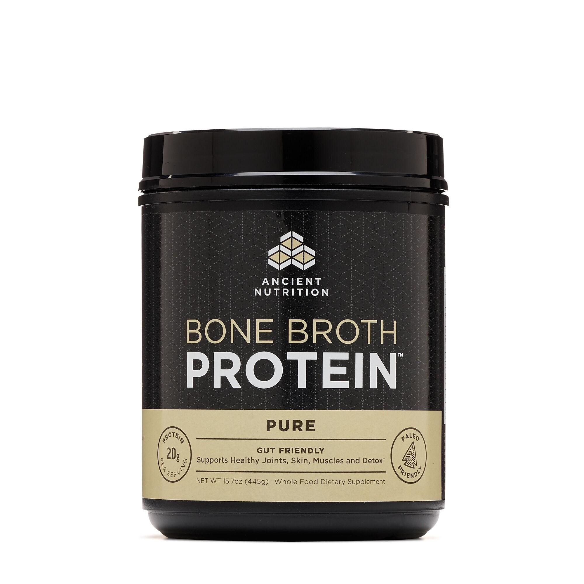 Ancient Nutrition -Bone Broth Protein™,  Proteina din Fiertura de Os de Pui,  445 g