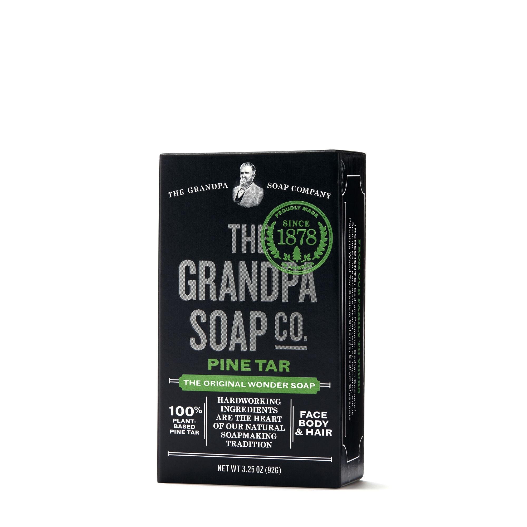 The Grandpa Soap Co. Pine Tar Soap, Sapun cu Gudron de Pin, 92 g