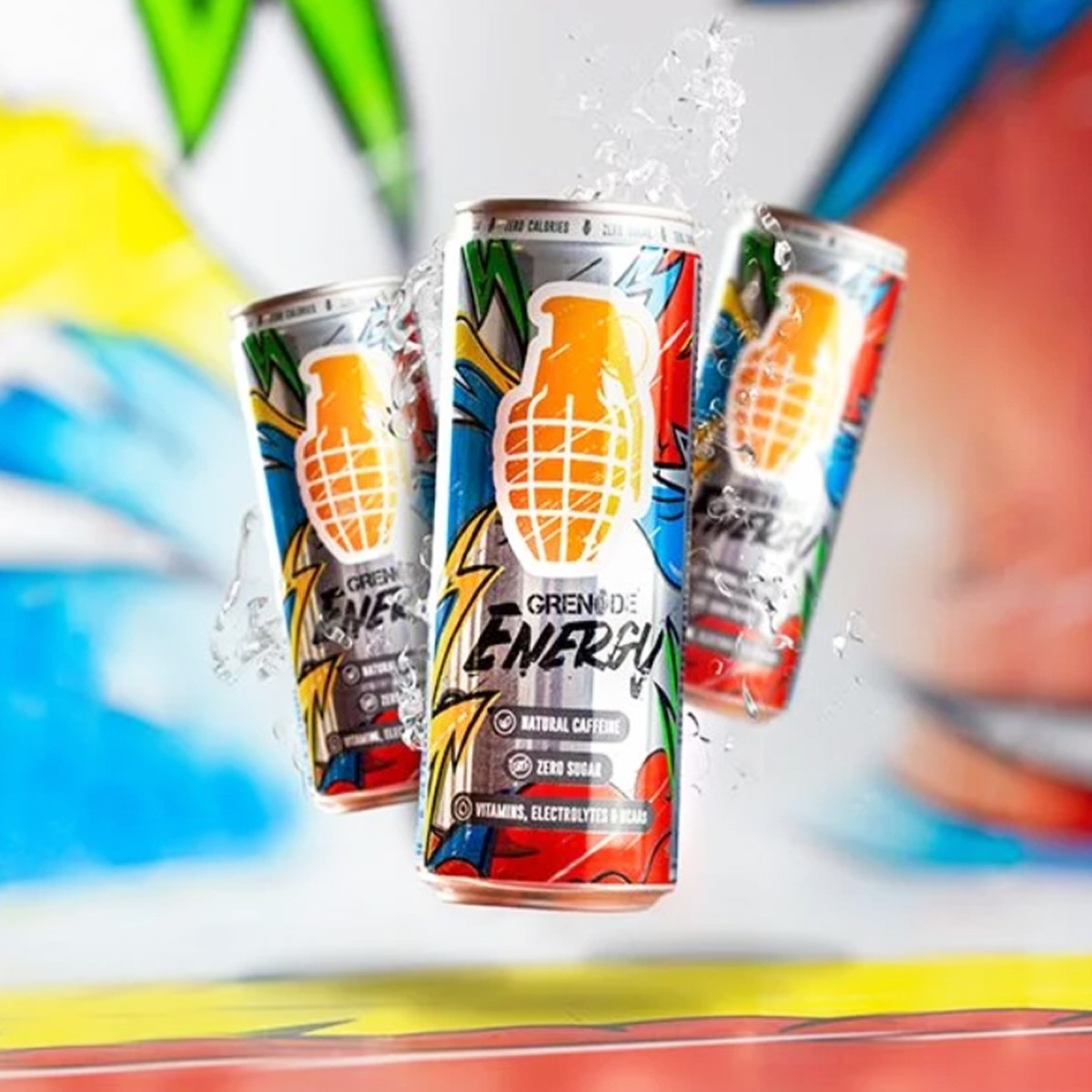 Grenade Energy® Functional Energy Drink Original, Bautura Energizanta, 330 ml
