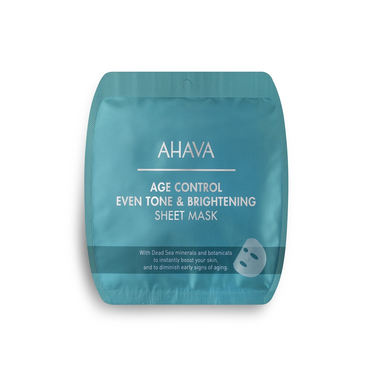 Ahava Age Control Even Tone & Brightenning Sheet Mask,  Masca Pentru Intinerirea si Fermitatea Tenului, 17 g