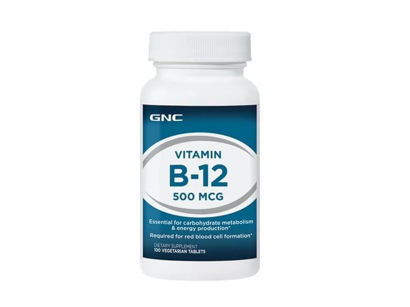 GNC Vitamina B-12 500 mcg, 100 tb