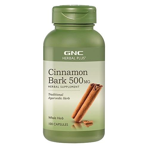 GNC Herbal Plus Scortisoara 500 mg, 100 Capsule