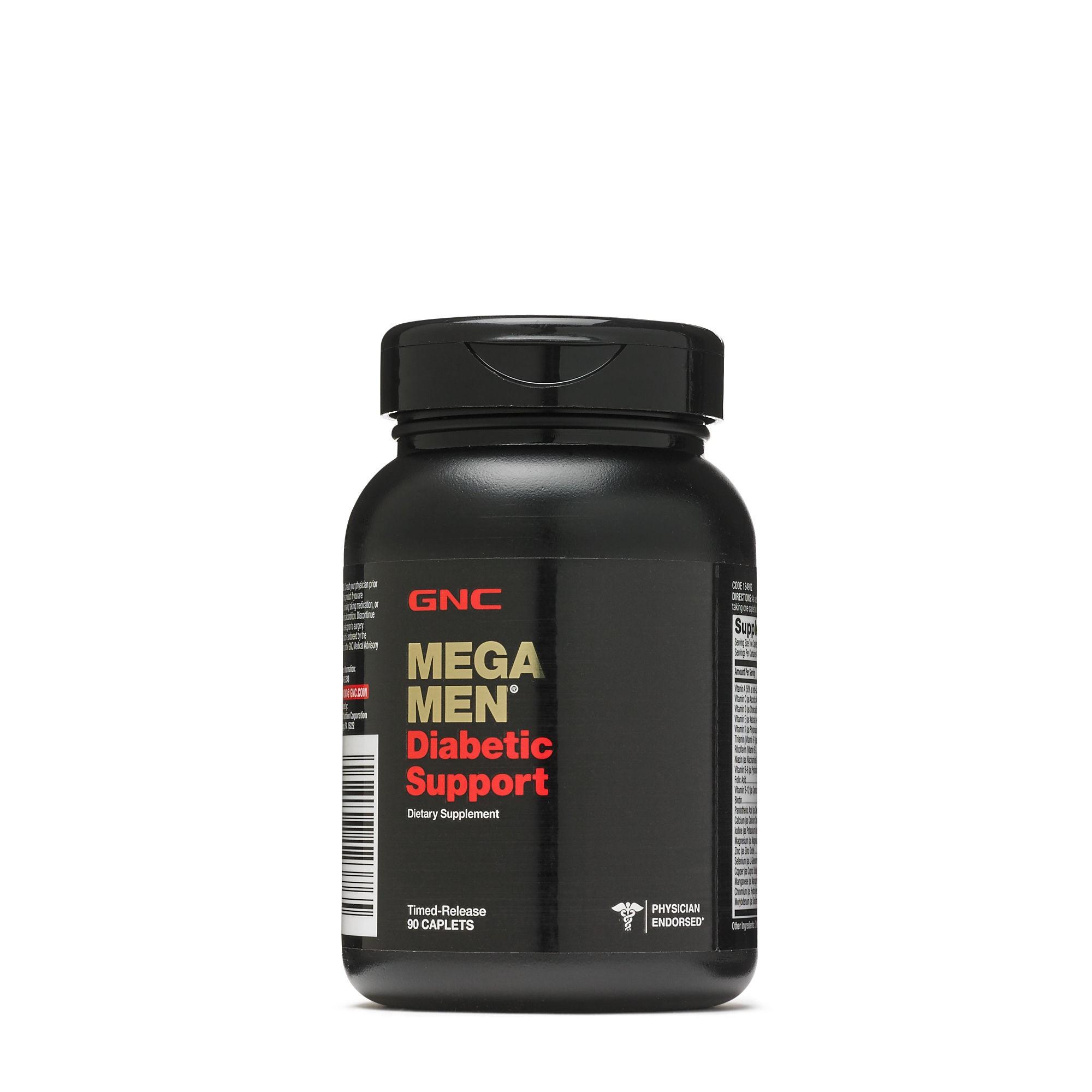 GNC Mega Men Suport Diabetic, 90 Tablete