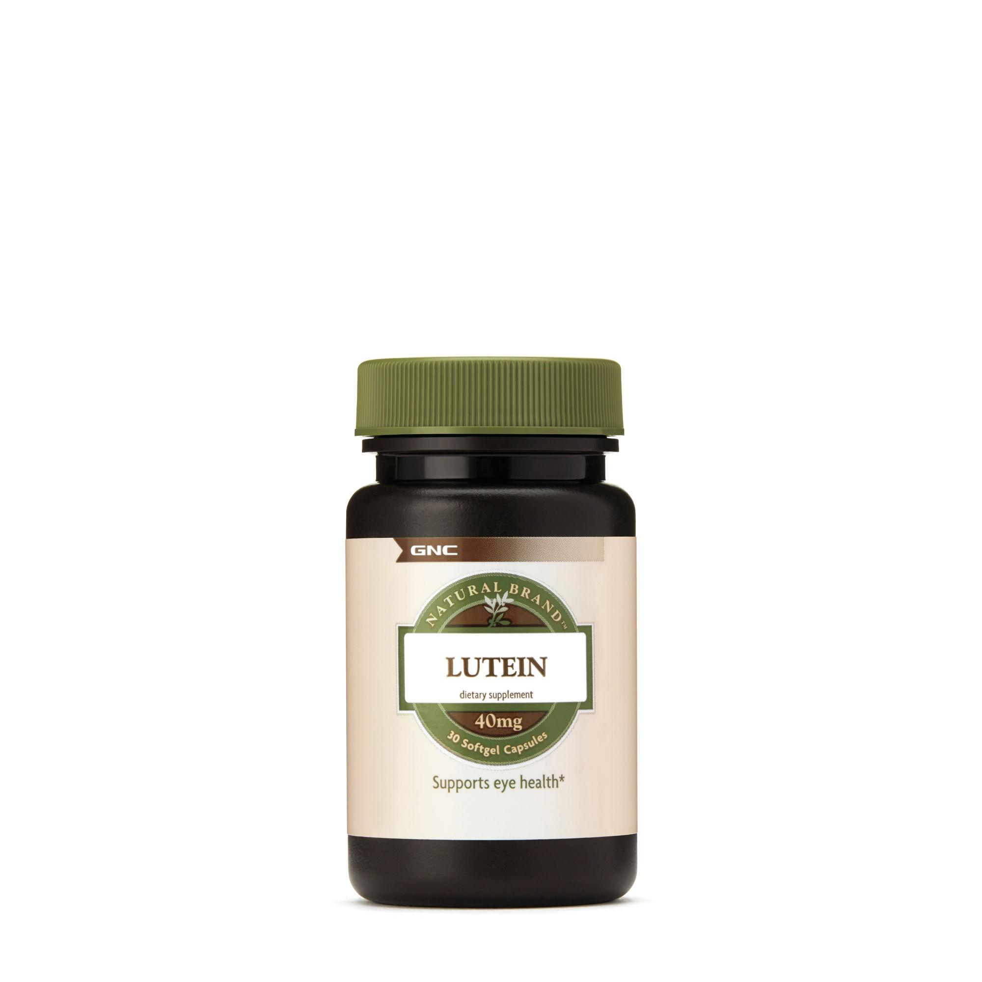 GNC Natural Brand Luteina, 40 mg