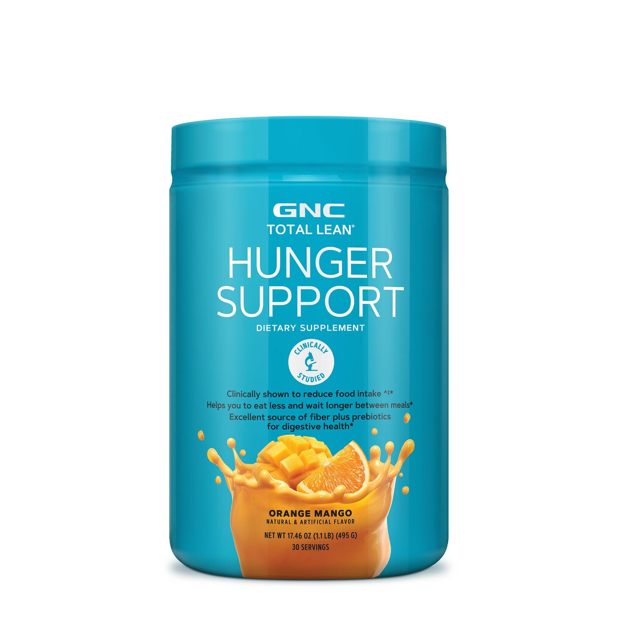 GNC Total Lean® Hunger Support, cu Aroma de Portocale si Mango, 495 g