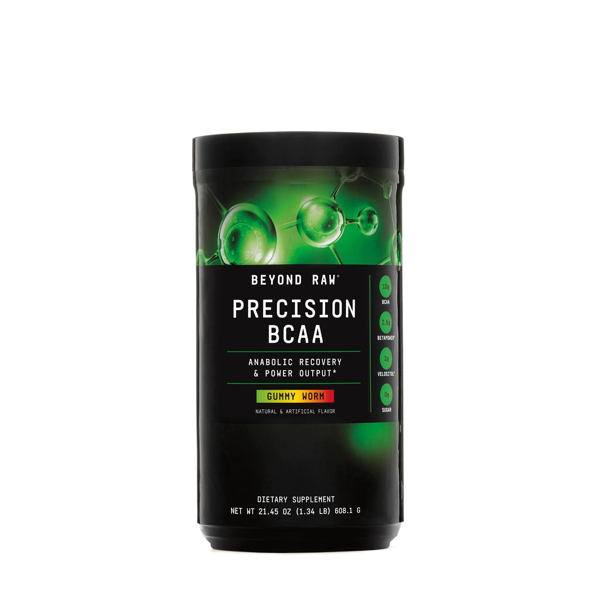 GNC Beyond Raw® Precision BCAA, Aminoacizi cu Aroma Jeleuri, 608.1 g