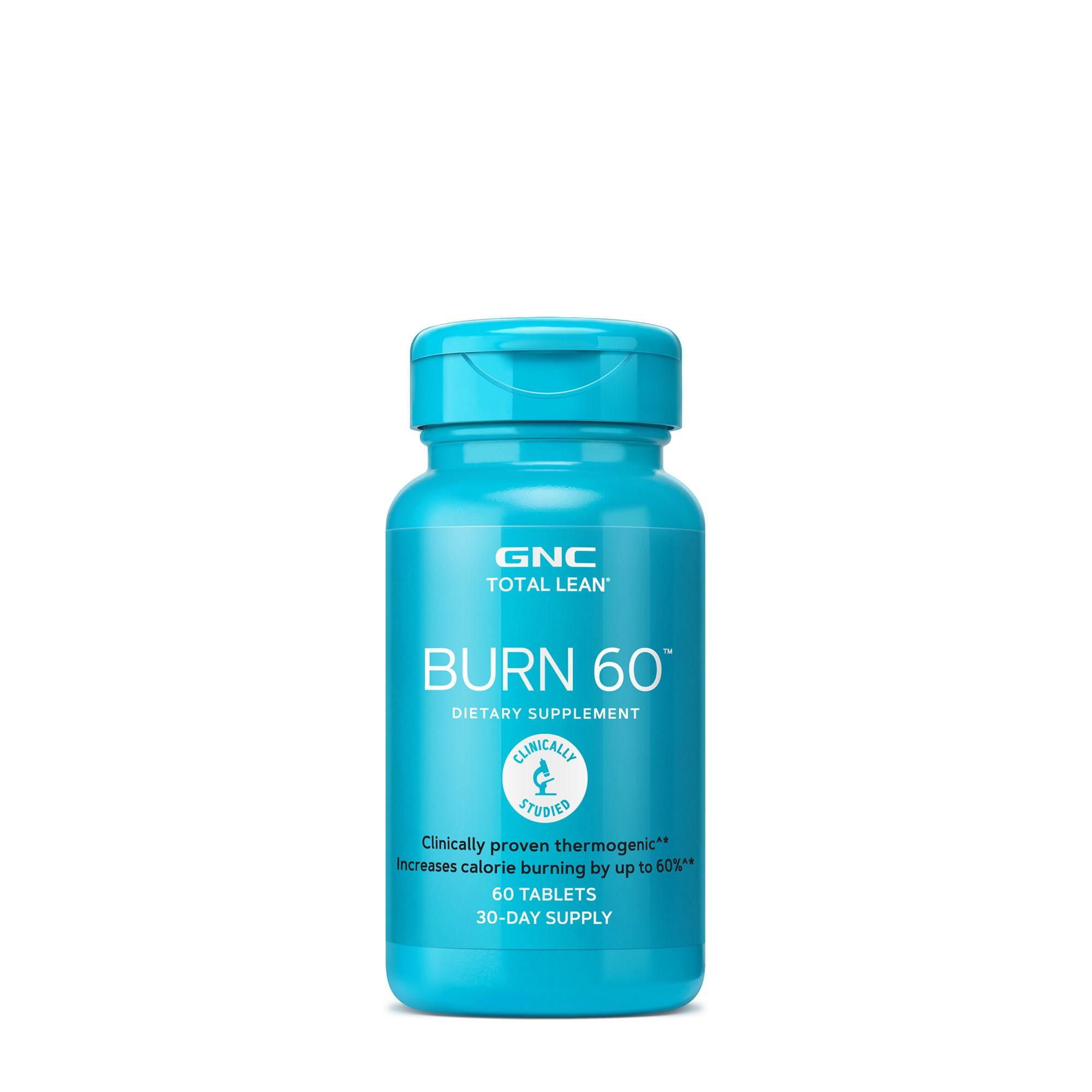 GNC Total Lean® Burn 60™, Formula Termogenica Pentru Stimularea Metabolismului, 60 tb