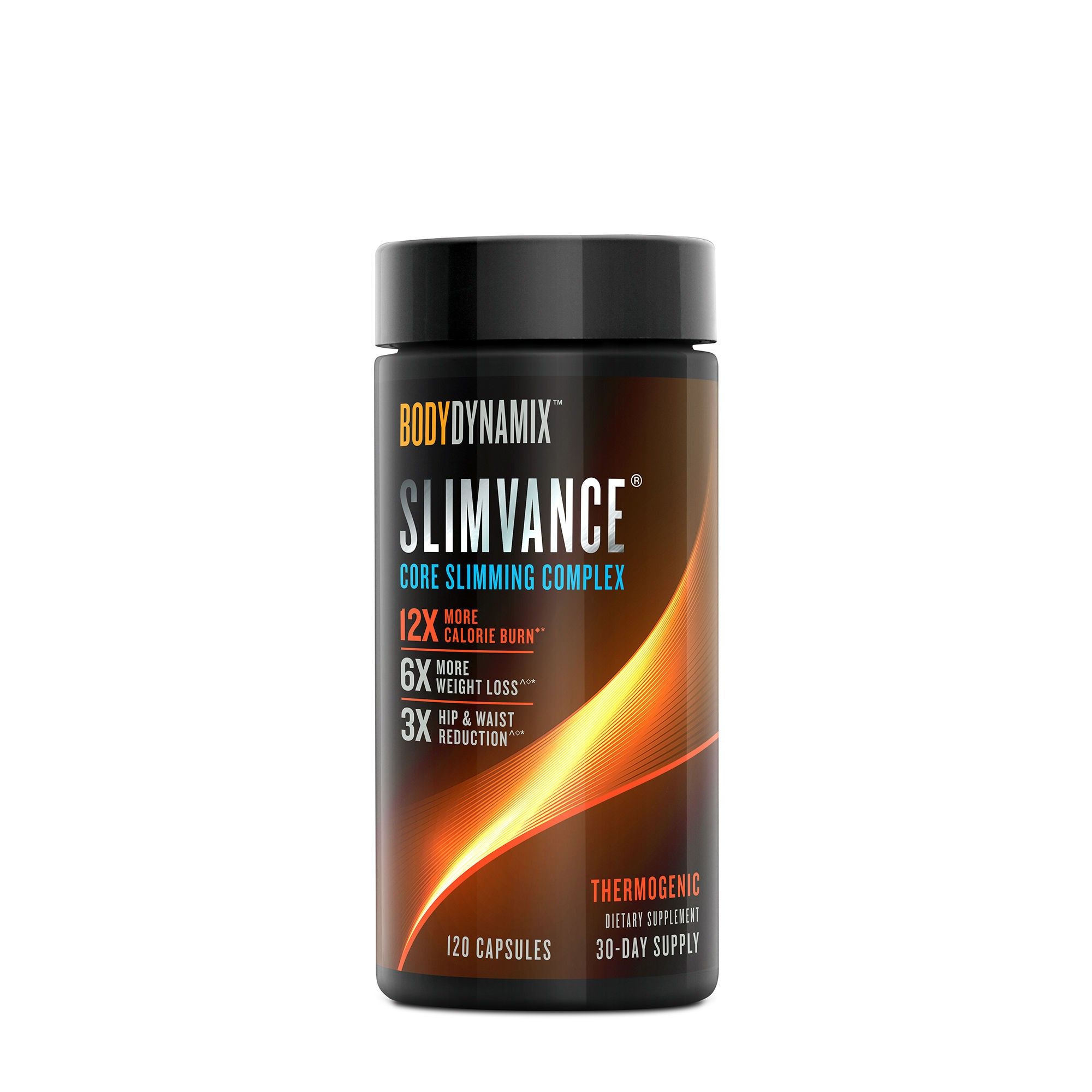 BodyDynamix™ Slimvance® Core Slimming Complex, Formula Pentru Controlul Greutatii, 120 cps