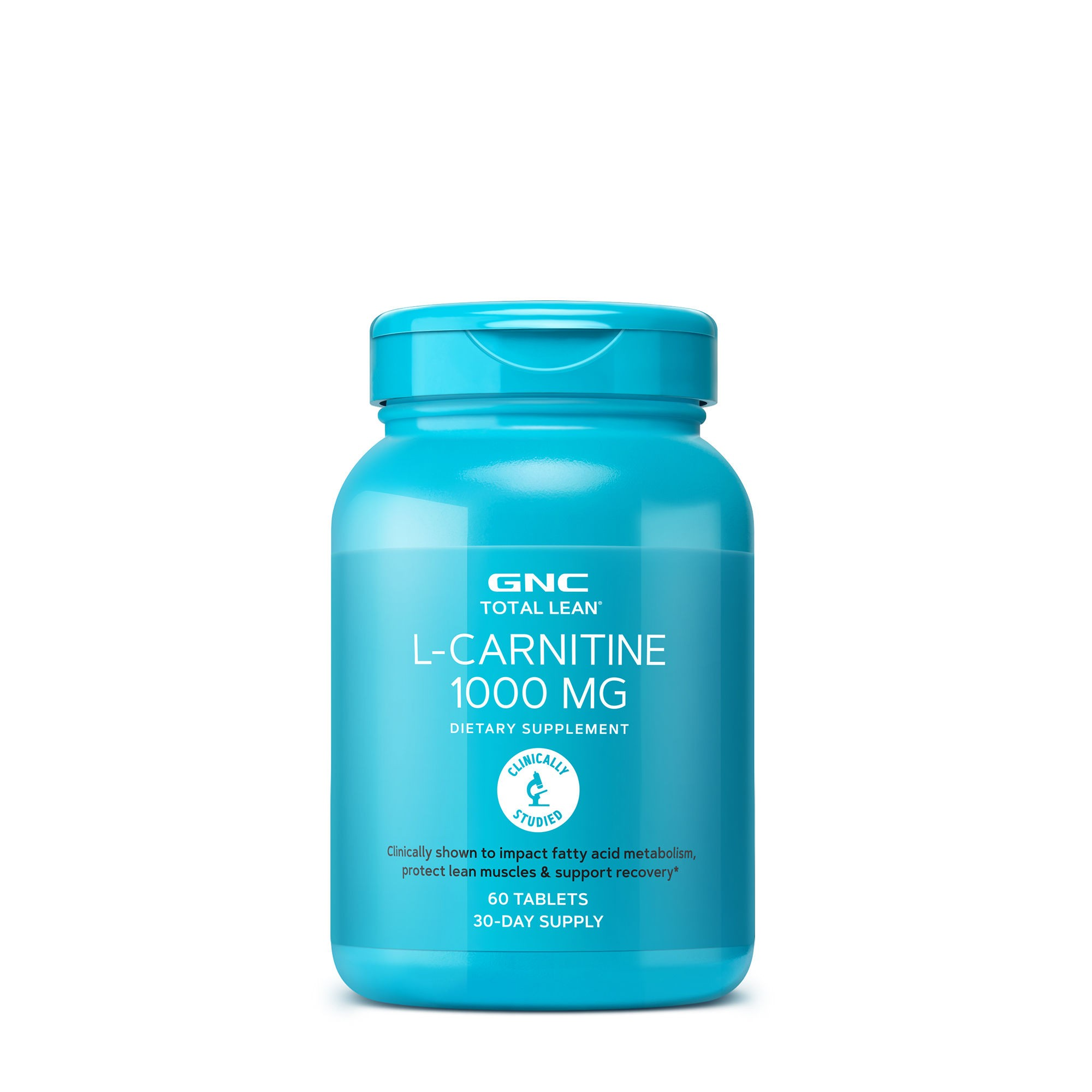 GNC Total Lean® L-Carnitina 1000 mg, 60 tb