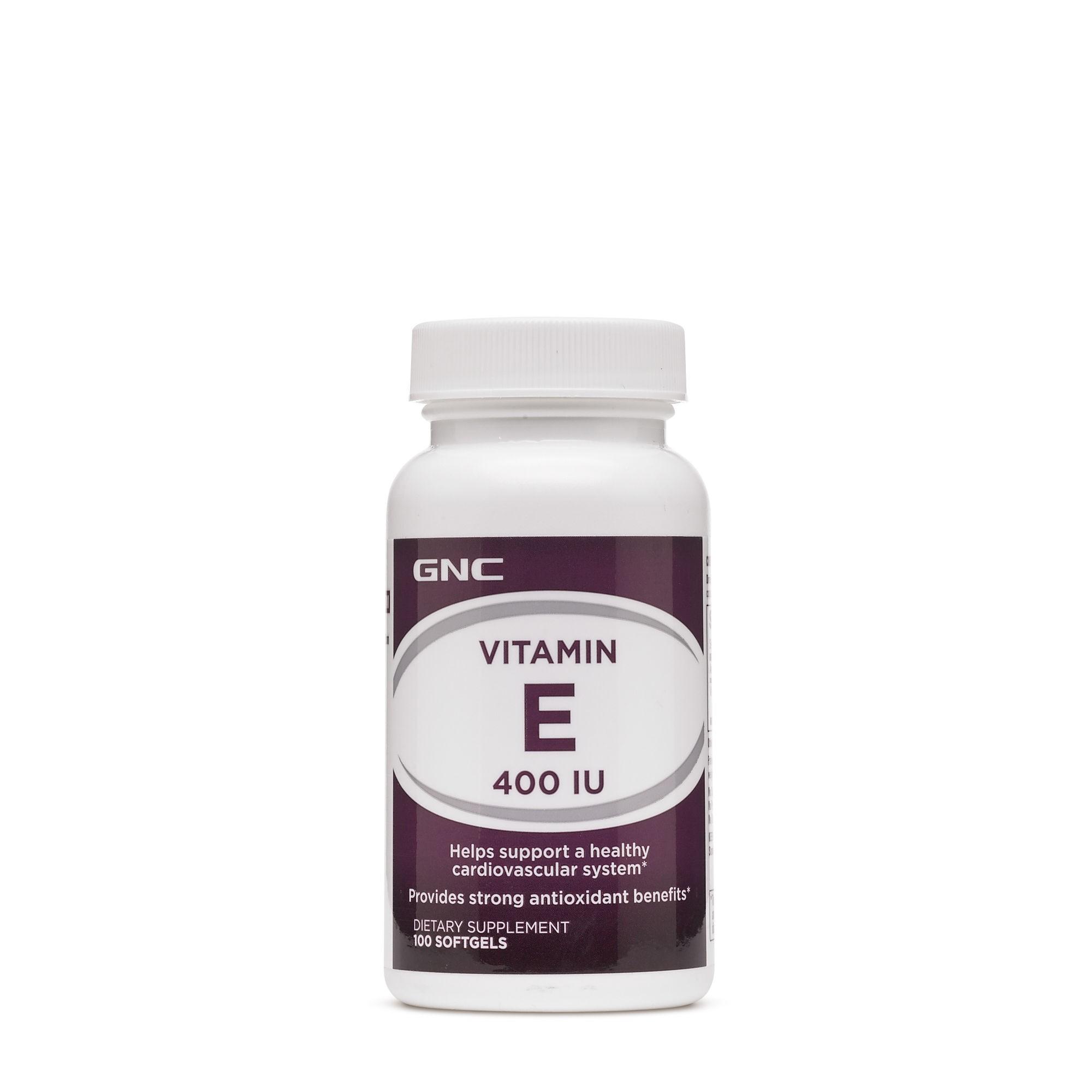 GNC Vitamina E 400 UI, 100 cps