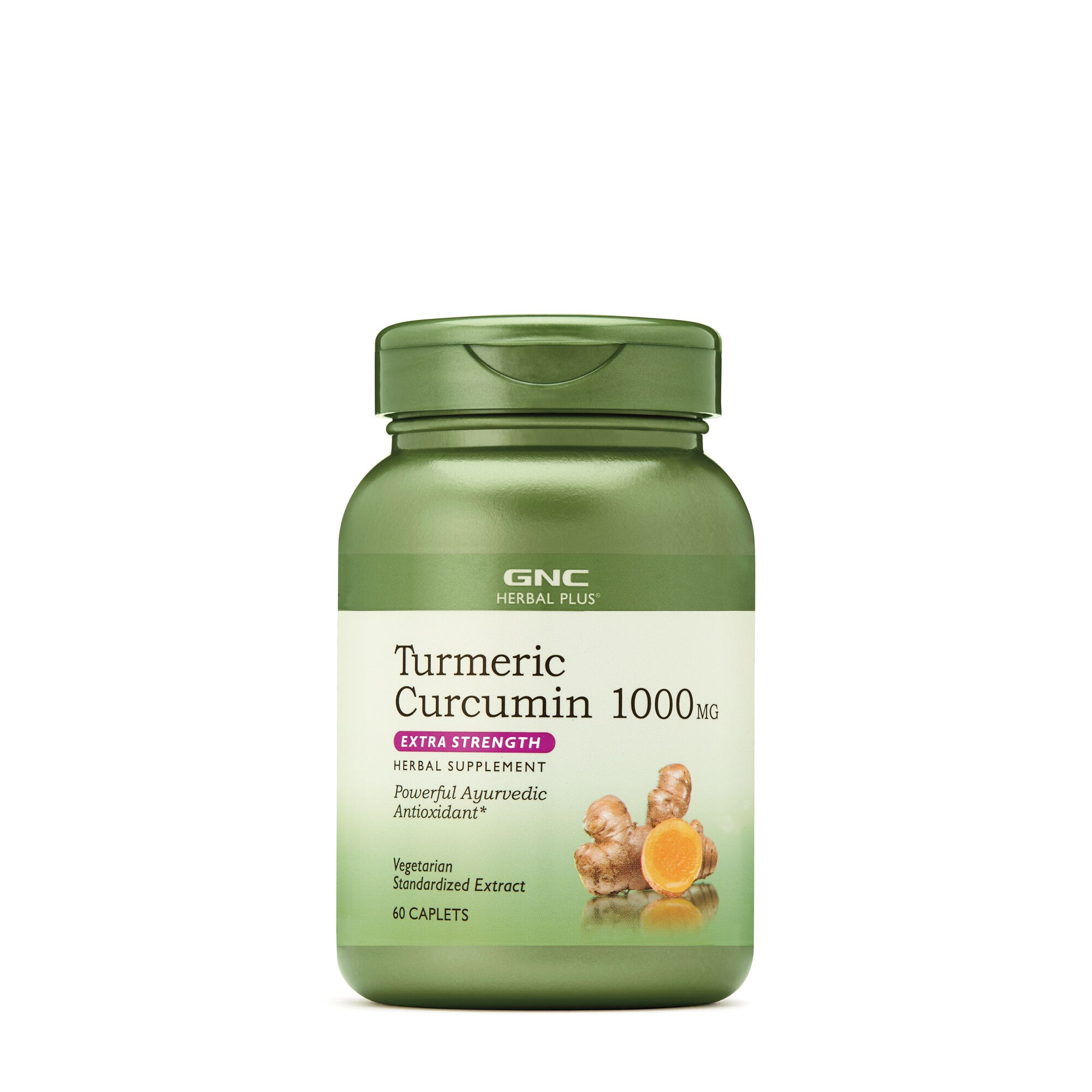 GNC Herbal Plus® Turmeric Curcumin 1000 Mg, 60 tb