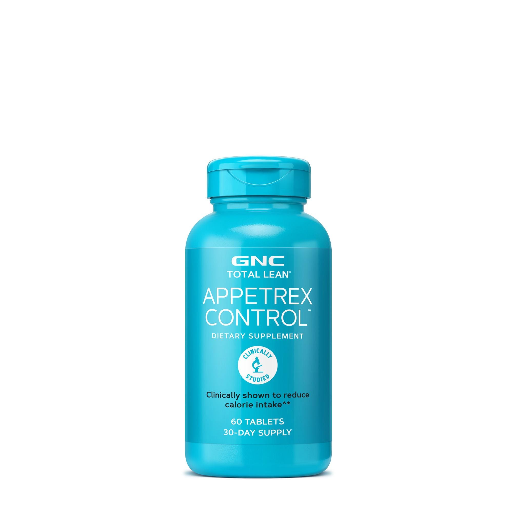 GNC Total Lean® Appetrex Control™, Formula Pentru Reducerea Apetitului Alimentar, 60 tb