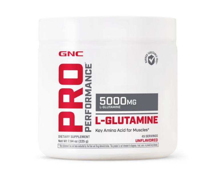 GNC Pro Performance® L-Glutamine 5000 mg, L-Glutamina, 225 g