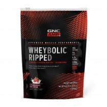 GNC AMP Wheybolic™ Ripped, Proteina din Zer, cu Aroma de Crema de Capsuni, 477 g