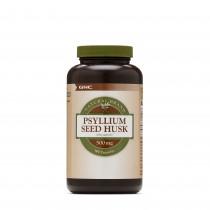 GNC Natural Brand™ Psyllium Seed Husk 500 mg, Seminte de Psyllium Decordicate, 180 cps