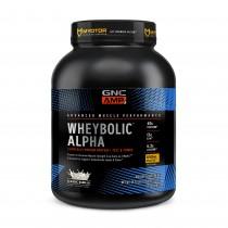 GNC AMP Wheybolic™ Alpha, Proteina din Zer, cu Aroma de Vanilie, 1313.4 g