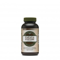 GNC Natural Brand™ Papaya Enzyme, Enzime Digestive din Papaia, 240 tb