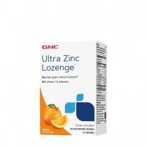 GNC Ultra Zinc Lozenge®, Zinc cu Aroma Naturala de Portocale, 48 tb