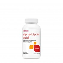 GNC Alpha-Lipoic Acid 600 mg, ALA Acid Alfa Lipoic, 60 tb