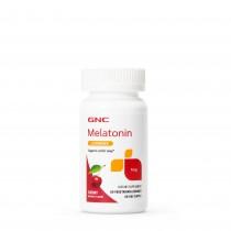 GNC Melatonin 1 mg, cu Aroma de Cirese, 60 tb