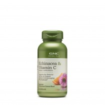 GNC Herbal Plus® Echinacea si Vitamina C, Echinacea & Vitamin C, 60 cps