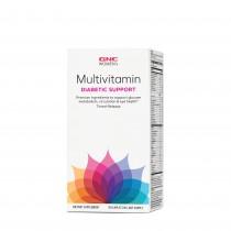 GNC Women's Multivitamin Diabetic Support, Multivitamine Pentru Femei Pentru Suport Diabetic, 90 tb