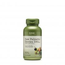 GNC Herbal Plus® Saw Palmetto Berries 540 mg, Fructe de Palmier Pitic, 100 cps