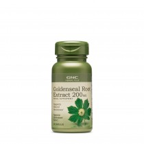 GNC Herbal Plus® Goldenseal Root 200 mg, Extract Standardizat de Gentiana, 50 cps