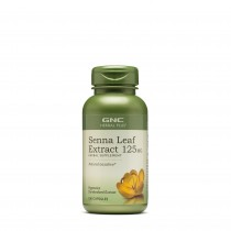 GNC Herbal Plus® Senna Leaf 125 mg, Extract Frunze de Senna,100 cps